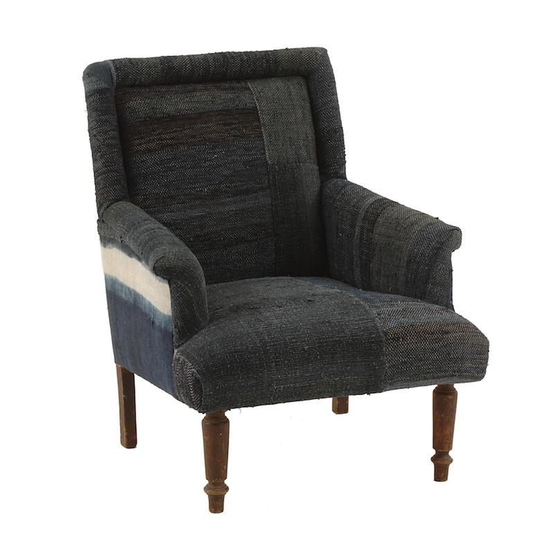 Ralph Indigo Chair