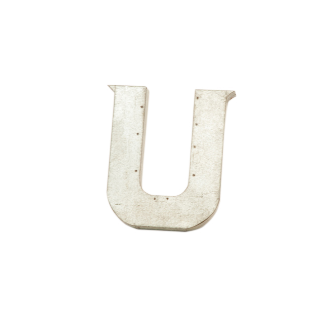 "Clauson Metal ""U"""