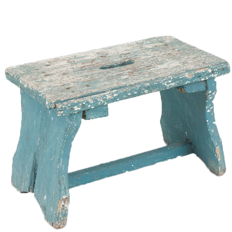 Albert Blue Stool