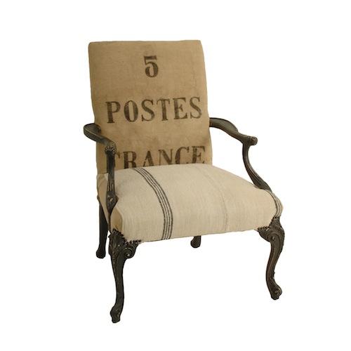 Soren French Chair