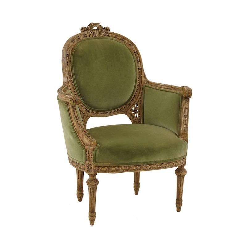 Riverton Velvet Chair