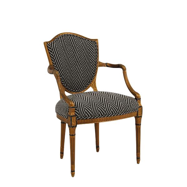 Donahue Herringbone Chairs