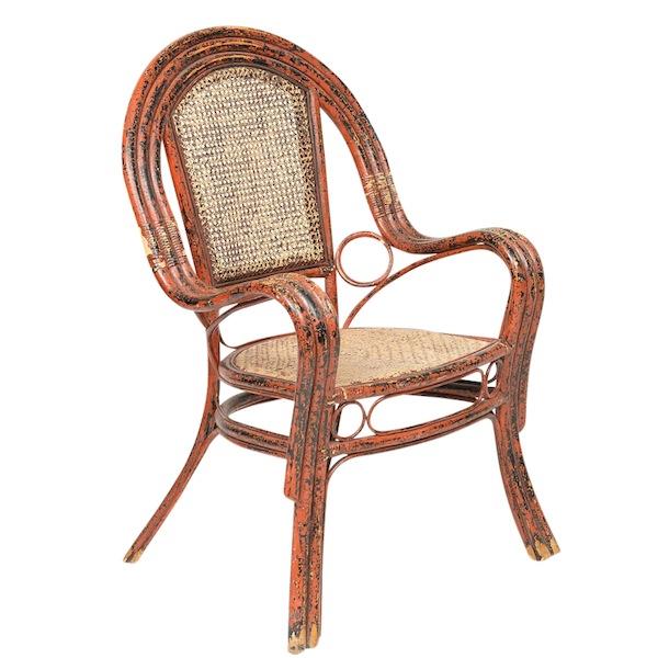 Vermillie Orange Chairs