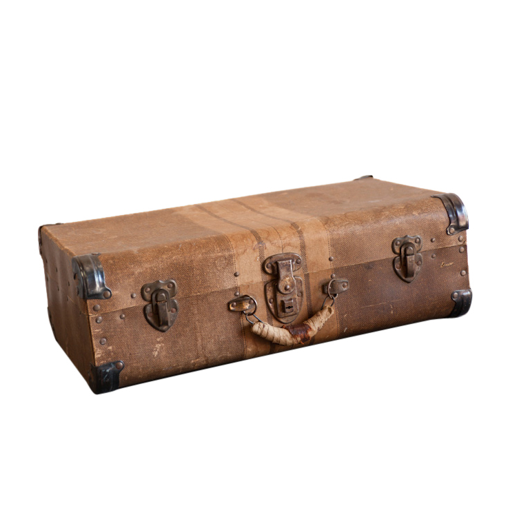 Lynnhaven Beige Suitcase
