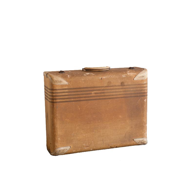 Tanner Beige Suitcase
