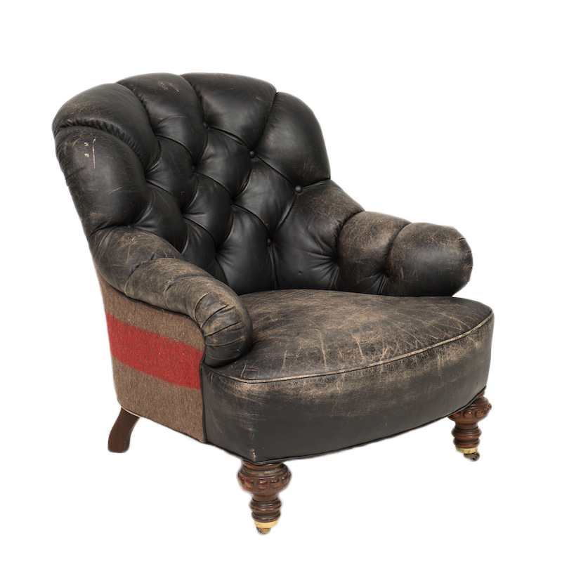 Corporal Leather Armchairs
