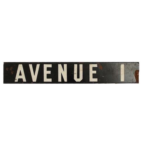 Cramer Street Sign