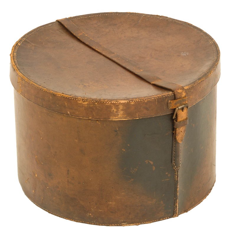 Gifford Leather Hat Box