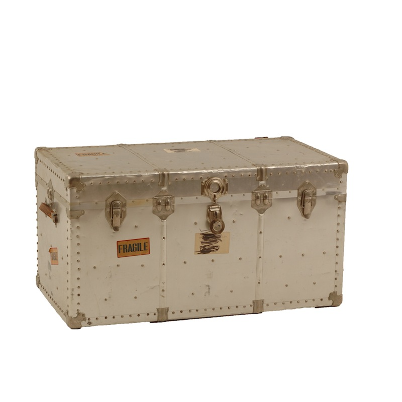 Hakes Silver Trunk