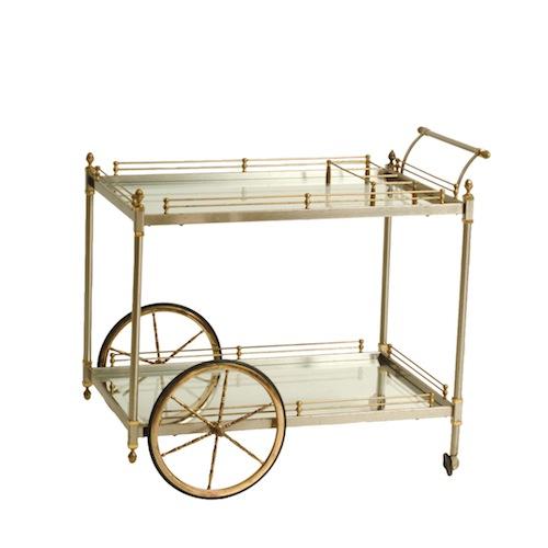 Vivianna Brass Cart