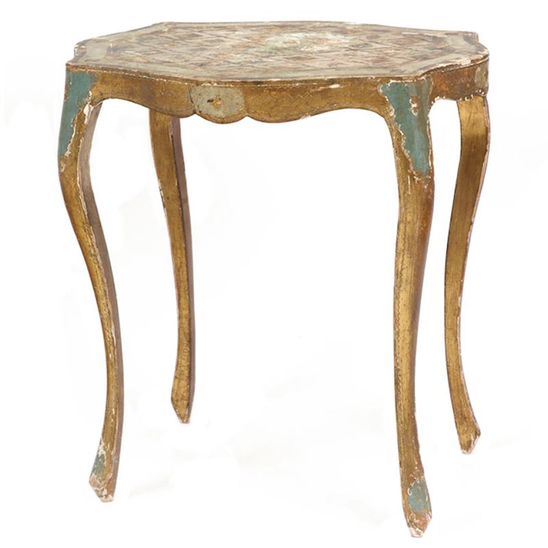 Bradley Gold Side Table