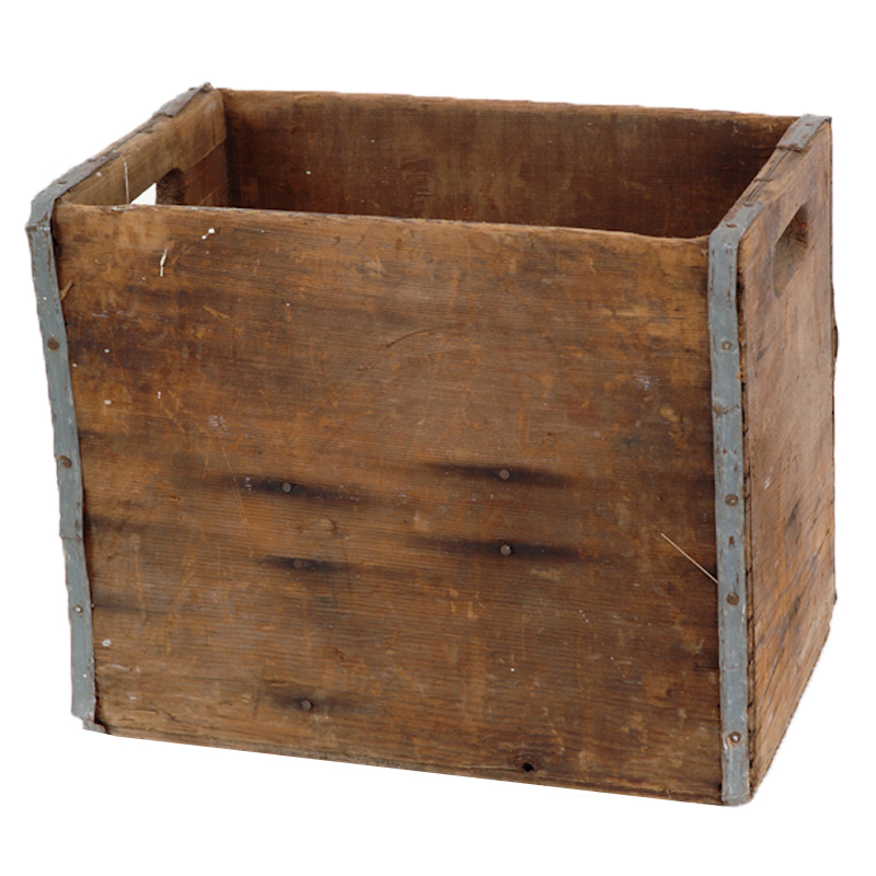 Reed Wooden Crate