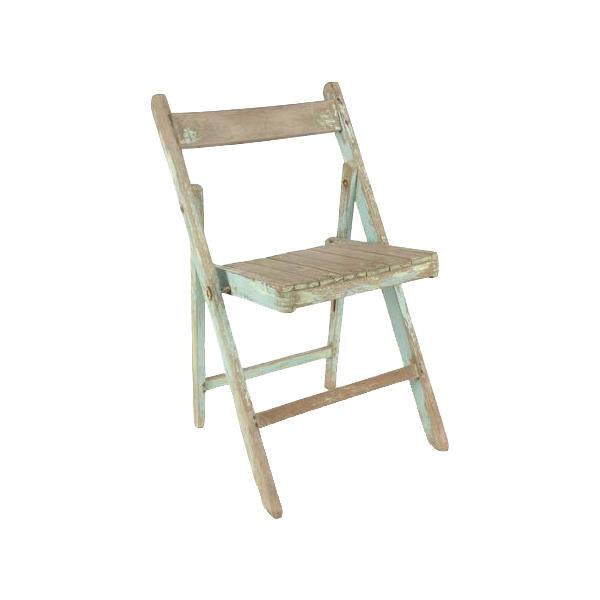 Newport Blue Folding Chairs