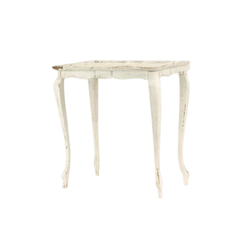 Susan White Side Table