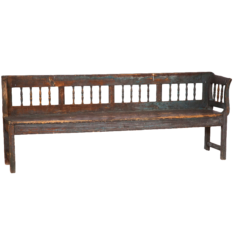 Christa Distressed Bench