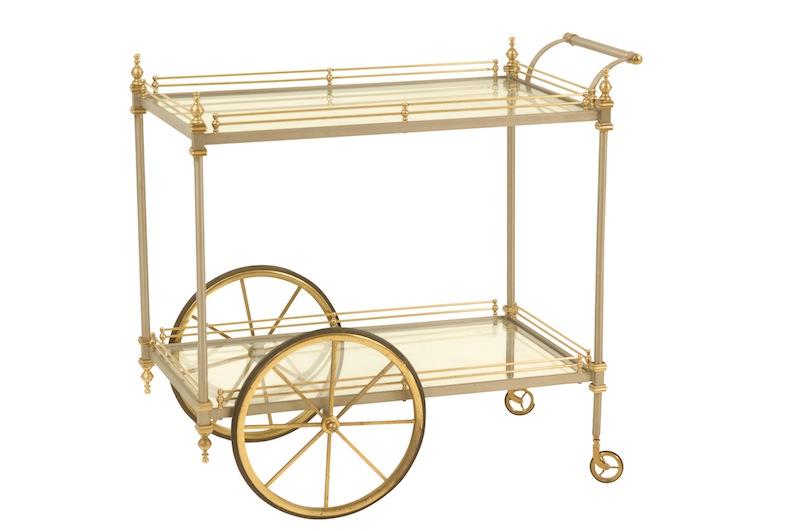 Abberley Brass Cart