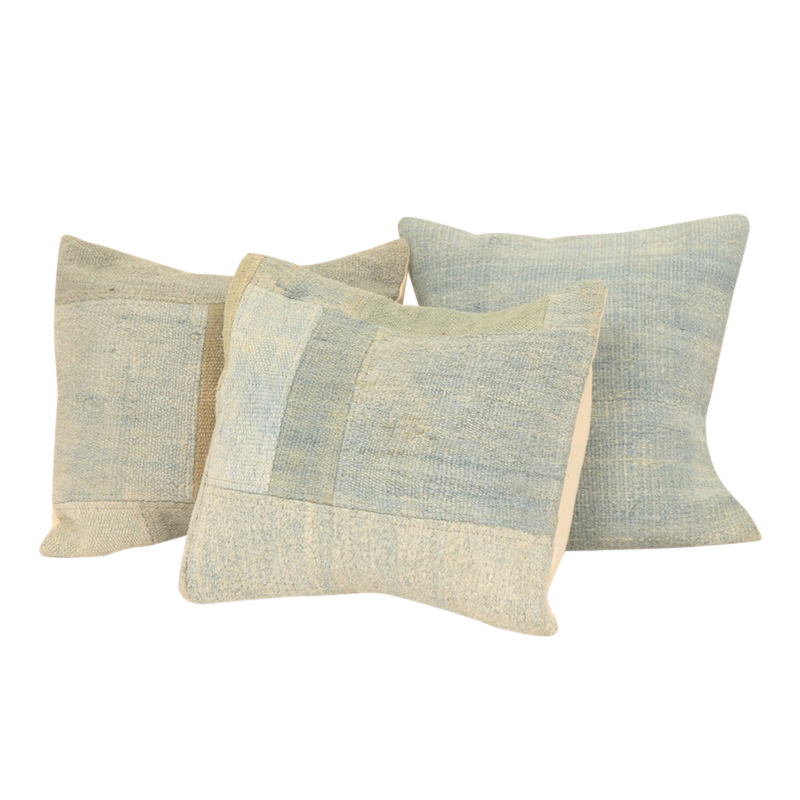 Agua Kilim Pillows (set of 3)