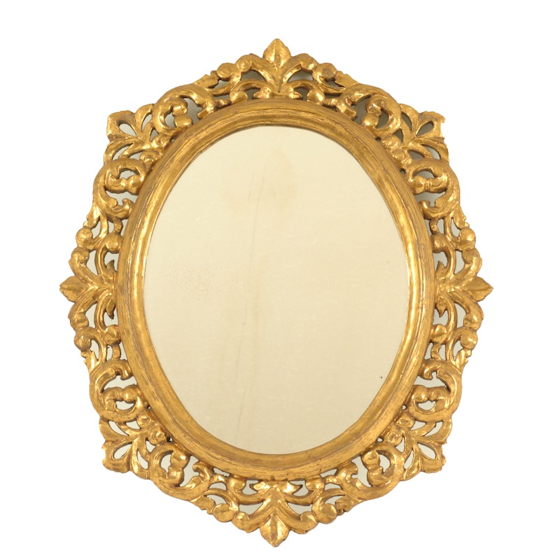 Edson Gold Mirror