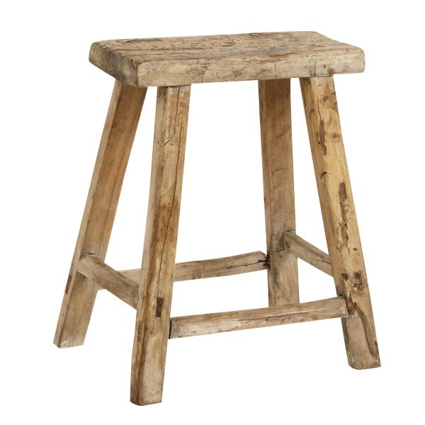 Mott Wooden Stool