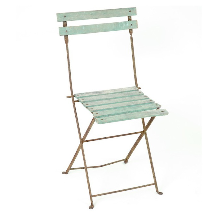 Cosette Green Bistro Chairs