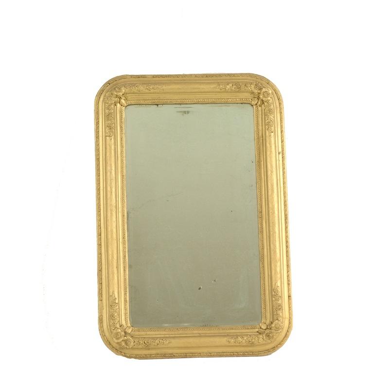 Dinkins Gold Mirror