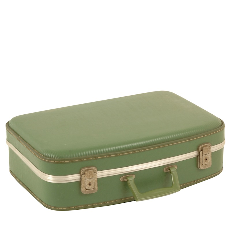 Spruce Green Suitcase