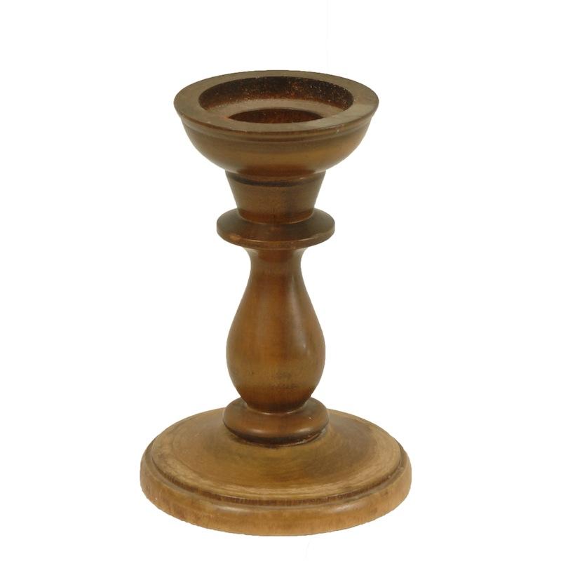 Radliff Wooden Candlestick