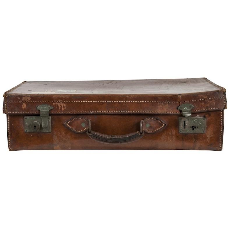 Ascott Leather Suitcase