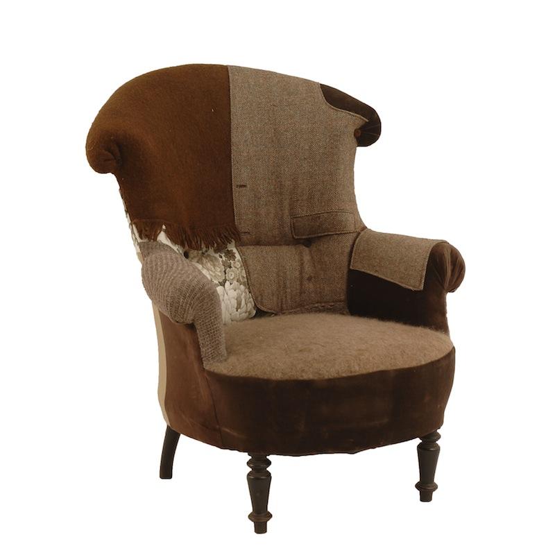 Beckett Patchwork Chair