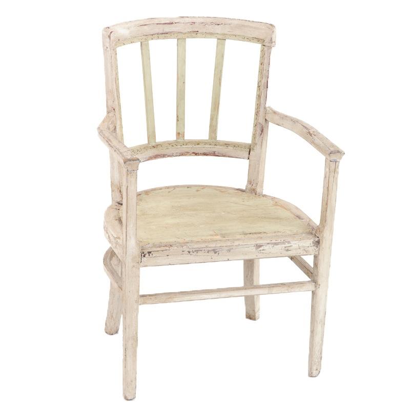 Landry Cream Armchair