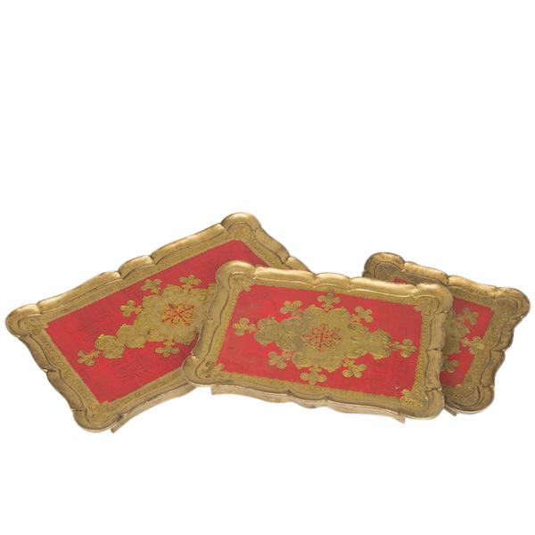 Vatican Trays (set of 3)
