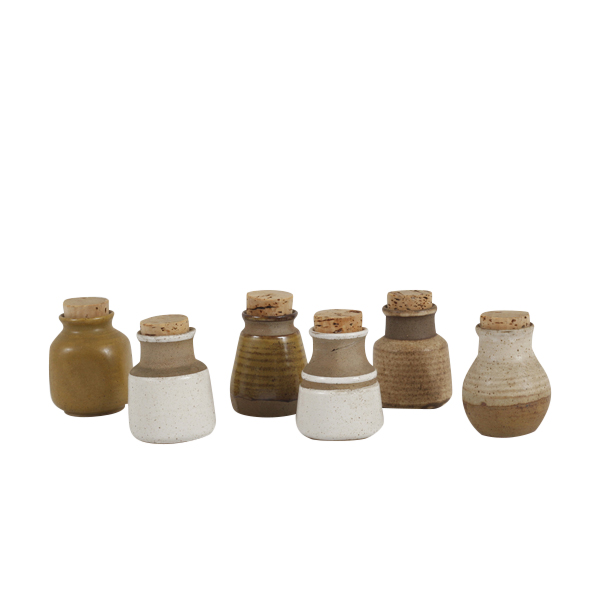 Richie Clay Bottles (set of 6)