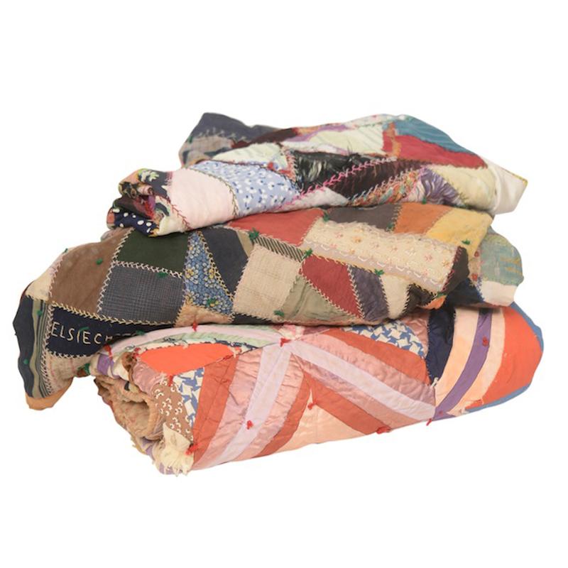 Vintage Quilts (set of 3)
