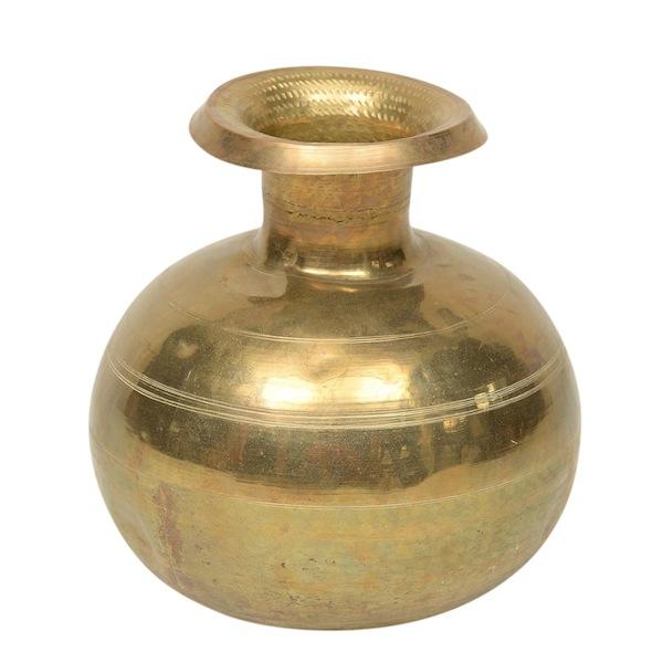 Panthea Gold Vase