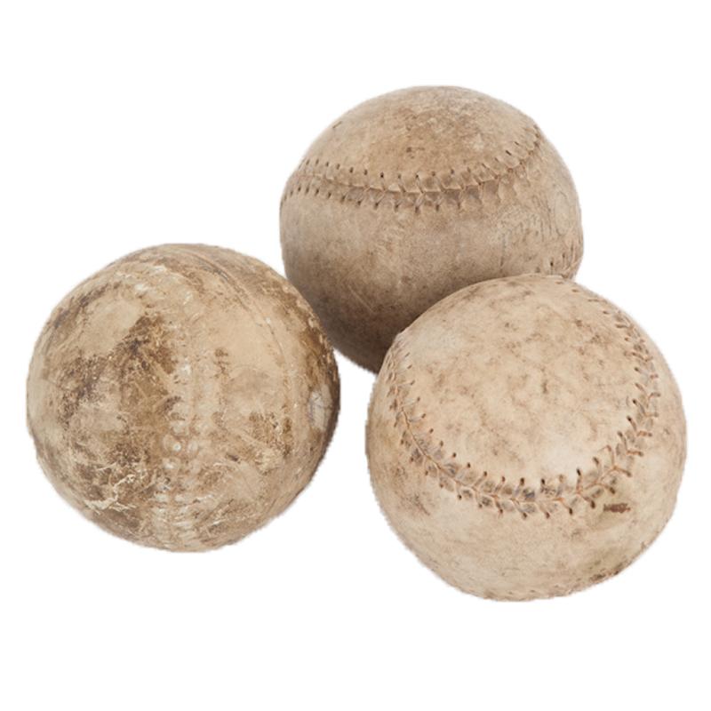 Sutherlin Baseballs (set of 3)