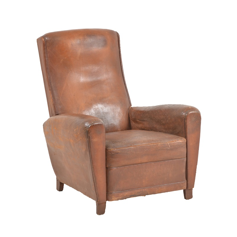 Theodore Leather Club Chair