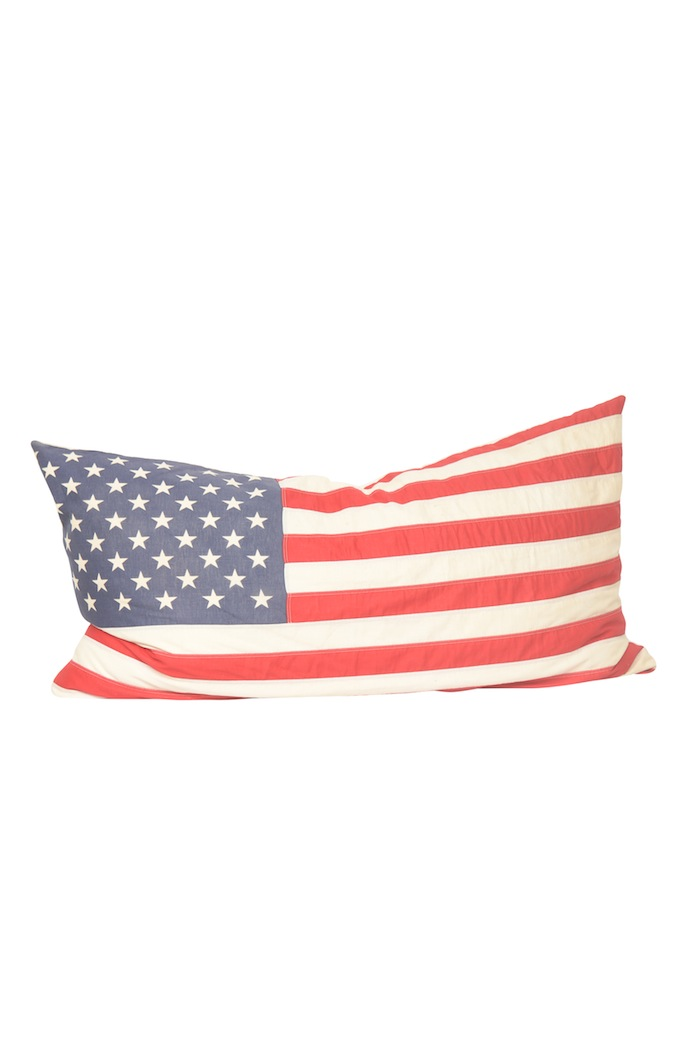 Victory Oversized Flag Pillow