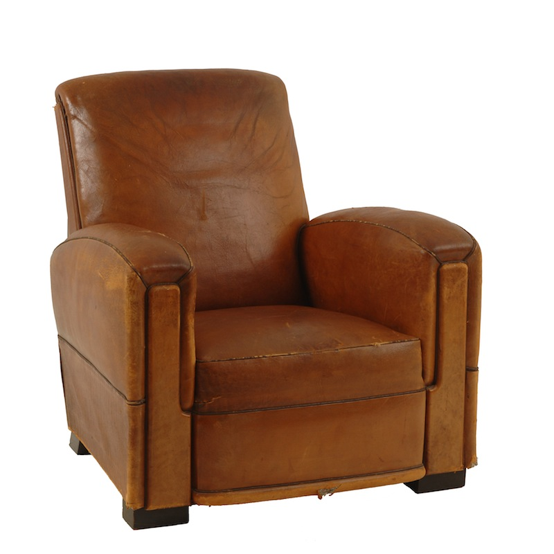 McGuire Leather Chair