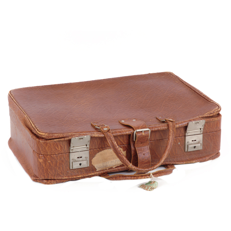 Reese Leather Suitcase