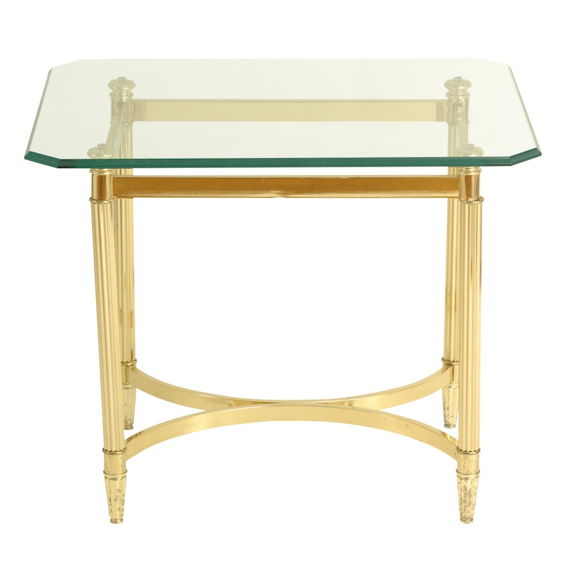 Gilroy Brass Side Table