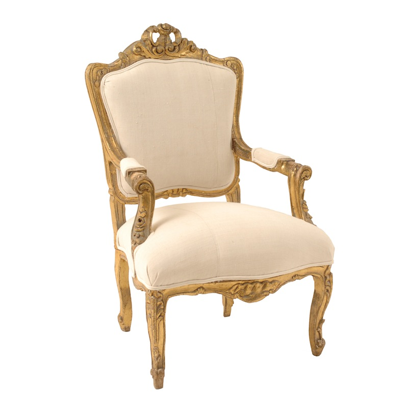 Geneva Gold Chair