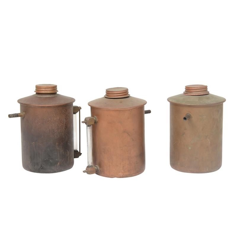 Brecht Copper Oil Cans