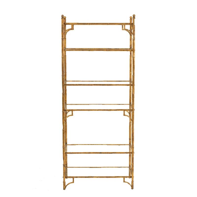 Marlena Gold Shelf