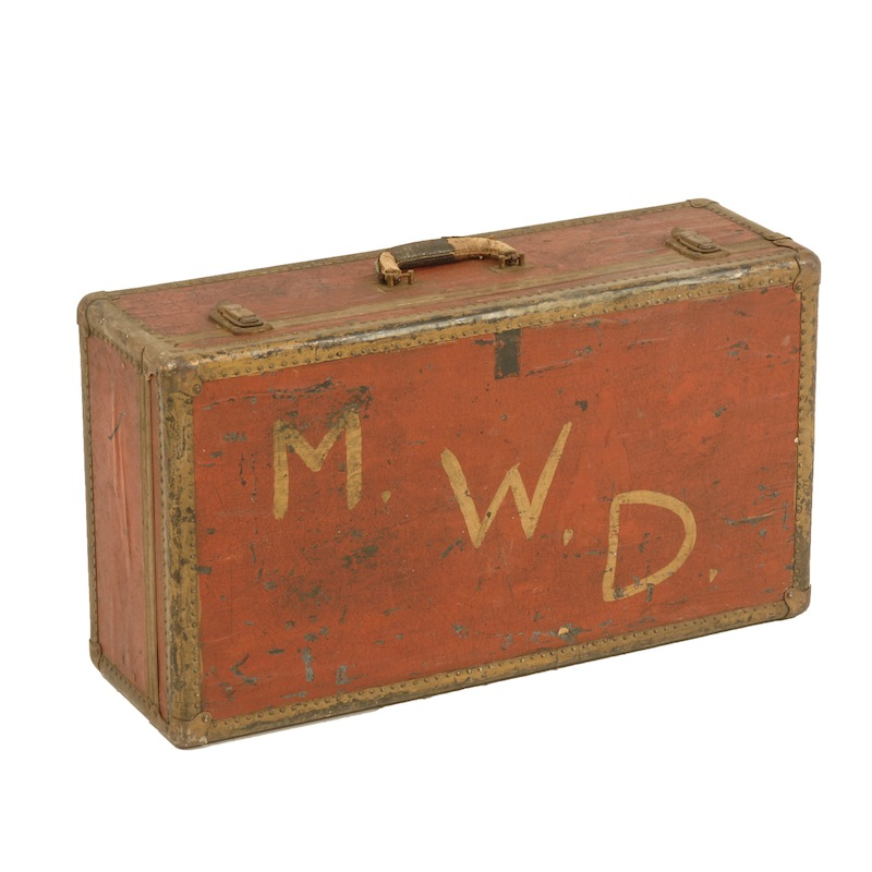 Morrow Red Suitcase