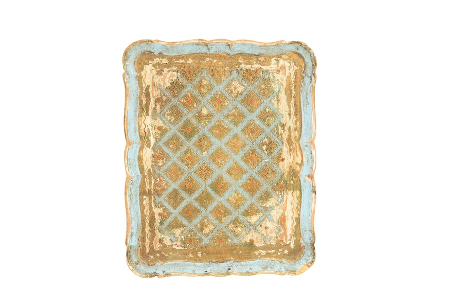 Blanche Gold Tray