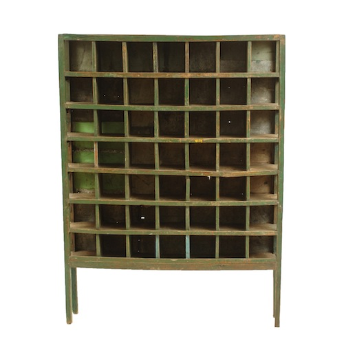 Mead Green Cubby Cabinet