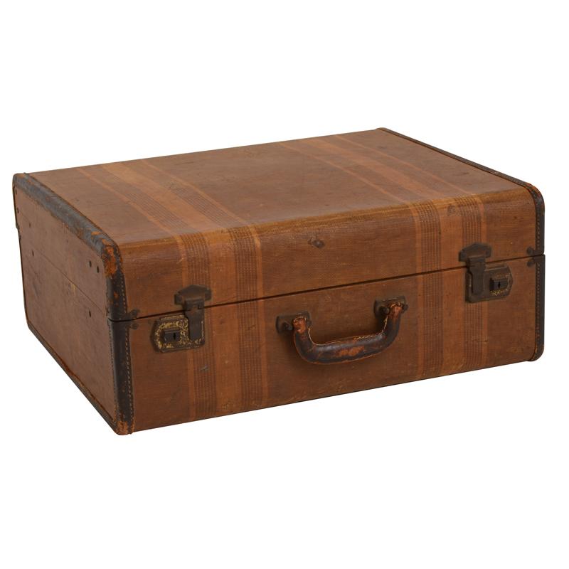 Stanton Striped Suitcase