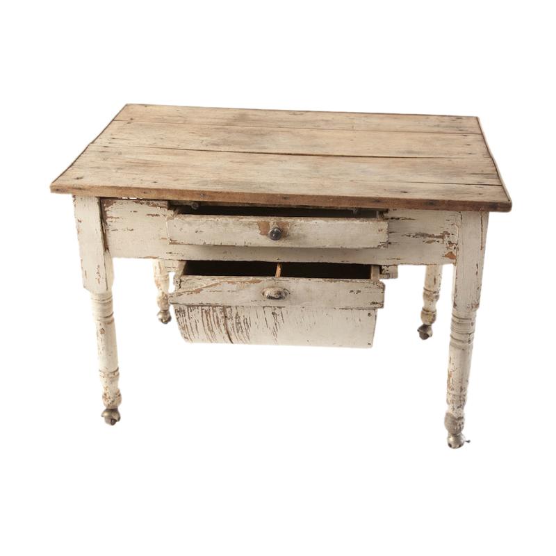 Emily Flour Bin Table