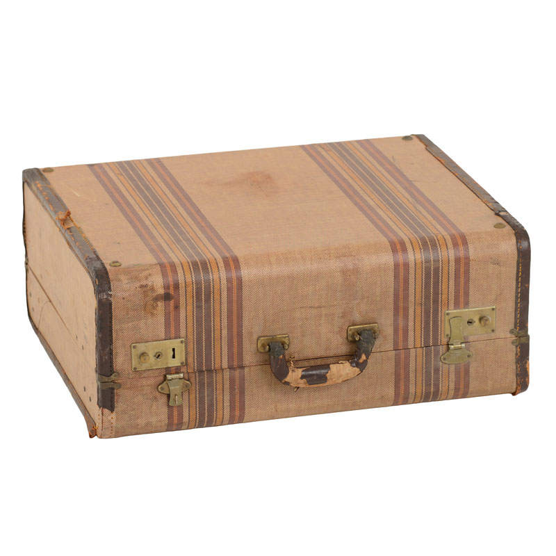 Alameda Striped Suitcase