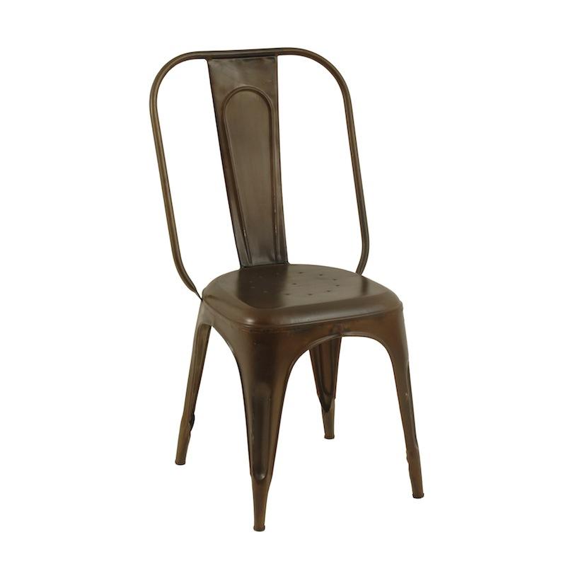 Hammer Dark Metal Chairs